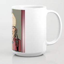 Turkic Woman in Traditional Hat Coffee Mug