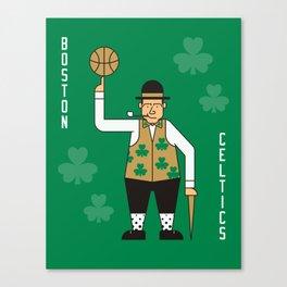 Boston NBA Celtics Canvas Print