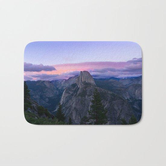Yosemite National Park at Sunset Bath Mat