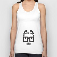 mars Tank Tops featuring MARS by Kenneth