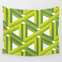 illusion Wall Tapestries featuring Illusion by Isometric
