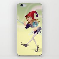 wizard iPhone & iPod Skins featuring Wizard by Joey