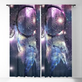Cosmic Dreamcatcher design Blackout Curtain