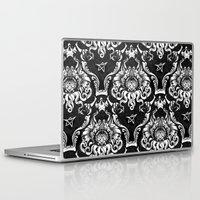 cthulhu Laptop & iPad Skins featuring Cthulhu Damask by Jimiyo