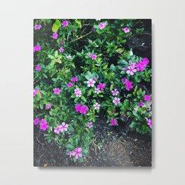 Friendly Flowers Metal Print