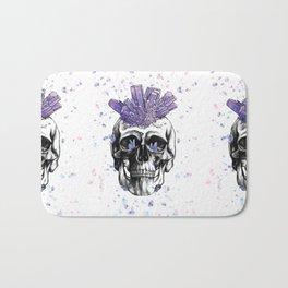 Crystal Skull by Andrea Cain Bath Mat