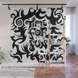 Time For Fun Wall Mural