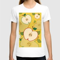 apple T-shirts featuring apple by vitamin