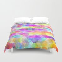 bubbles Duvet Covers featuring Bubbles by Ornaart
