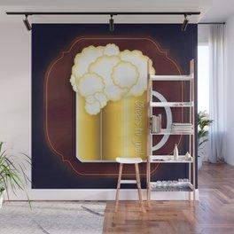 Mug of Beer, I Mean Cheer Wall Mural