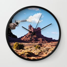 The Gods Must be Crazy Wall Clock
