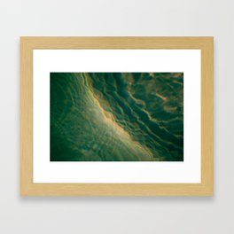 Tsunami Framed Art Print