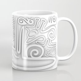 White Snails Coffee Mug