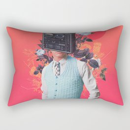 Phonohead Rectangular Pillow