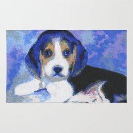 Beagle Puppy Rug