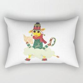 Oli in Festive Season Rectangular Pillow