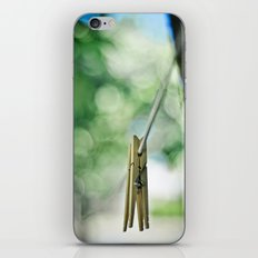 end of the line iPhone & iPod Skin