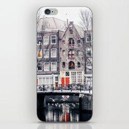 AMSTERDAM / Winter Magic iPhone Skin