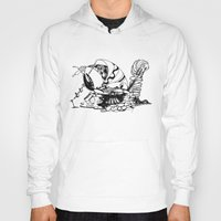 crab Hoodies featuring Crab by Cowbird