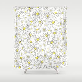 Picking Daisies Shower Curtain