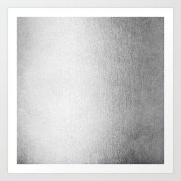 Moonlight Silver Art Print
