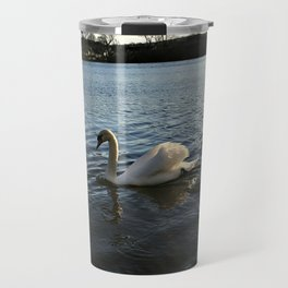 Irish Swans Travel Mug