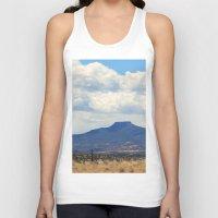oasis Tank Tops featuring Cerro Pedernal OKeeffe Oasis by AllisonSwindell