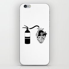 Good Heart, Bad Temper iPhone & iPod Skin