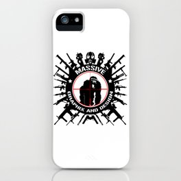 Massive GPX Gorilla Gun Logo iPhone Case