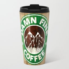 Damn Fine Coffee Travel Mug
