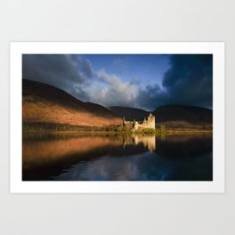 Kilchurn Castle, Loch Awe, Highlands, Scotland Art Print