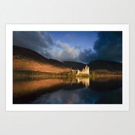 Kilchurn Castle, Loch Awe, Highlands, Scotland Art Print