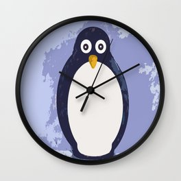 Penguin Village Wall Clock