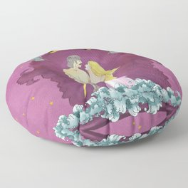 Midnight Raider Floor Pillow