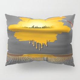 An artist paints his life colorful Pillow Sham