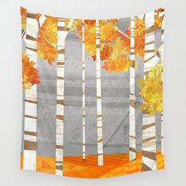 Autumn woods Wandbehang