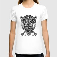 egyptian T-shirts featuring Baby Egyptian Owl by Rachel Caldwell