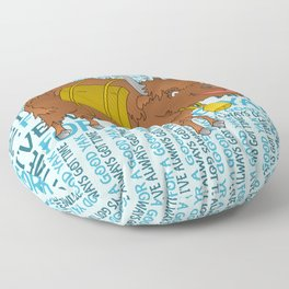 Time for a YAK Floor Pillow