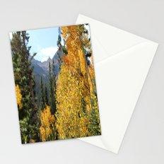 Autumn in the Rocky Mountains at Diamond Lake Trail, Eldora Colorado Stationery Cards