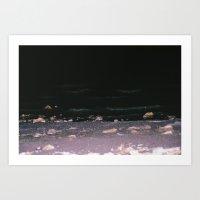 Dark Shores Art Print