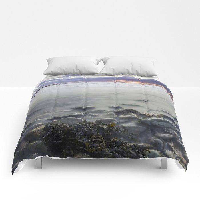 Sunset Beach Comforters