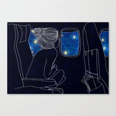 The Star and Planes Canvas Print