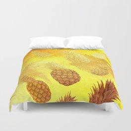 Ananas Fruit Pattern 2 Duvet Cover