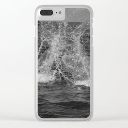 Be happy for this moment, this moment is your life Clear iPhone Case