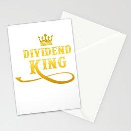 Dividend King  Investor Capitalism Gift Stationery Cards