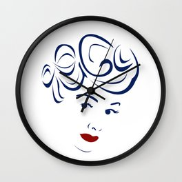 Lucy - Hairography (Lucille Ball) (I Love Lucy) Wall Clock