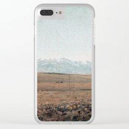 Sanford Robinson Gifford Longs Peak, Colorado Clear iPhone Case