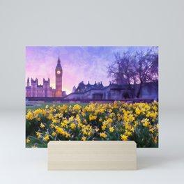 London Cityscape Mini Art Print
