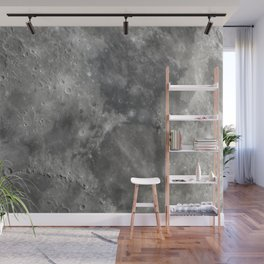 craters on the moon Wall Mural