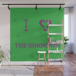 I heart The Unknown Wall Mural